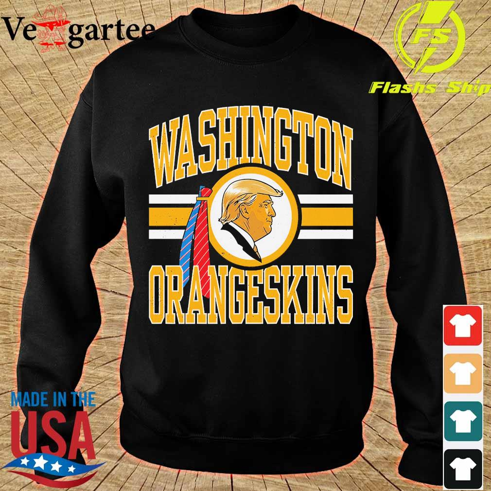 Washington orangeskins Donald Trump s sweater