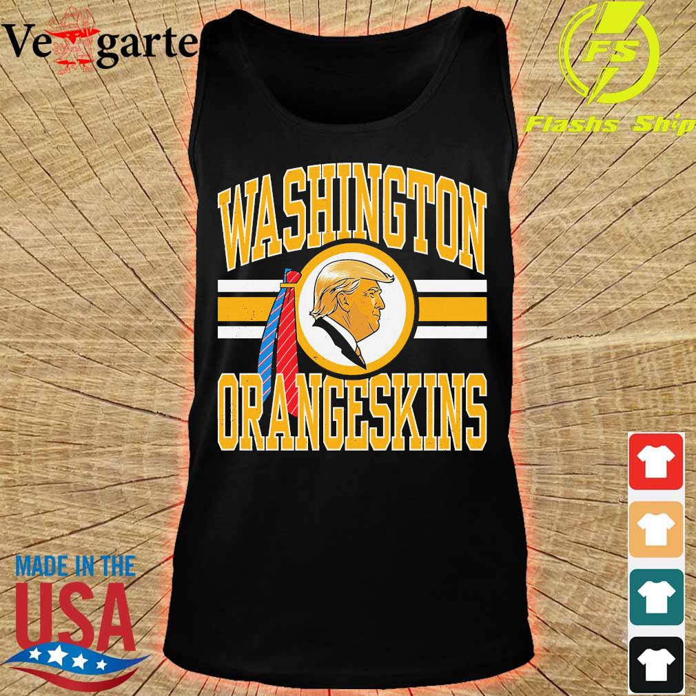 Washington orangeskins Donald Trump s tank top