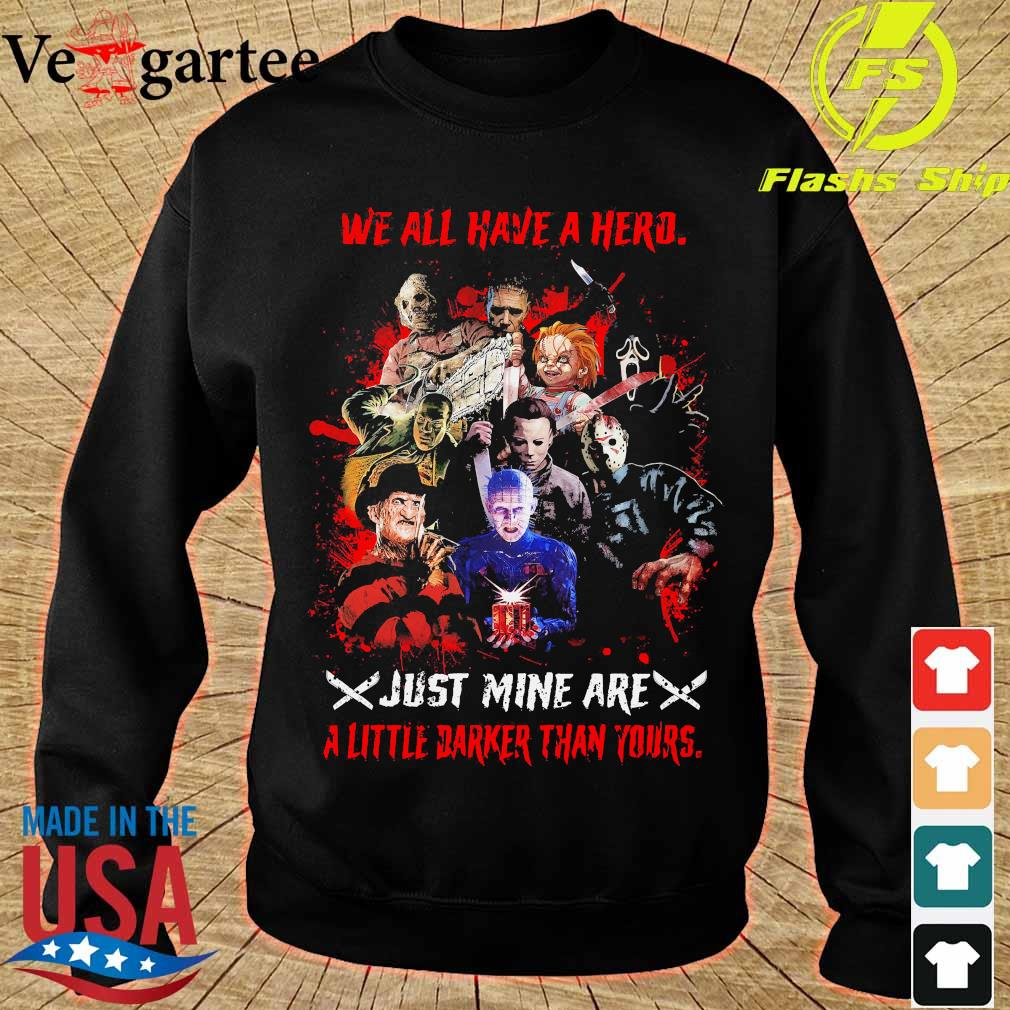 We all have a herd just mine are a little darker than yours s sweater
