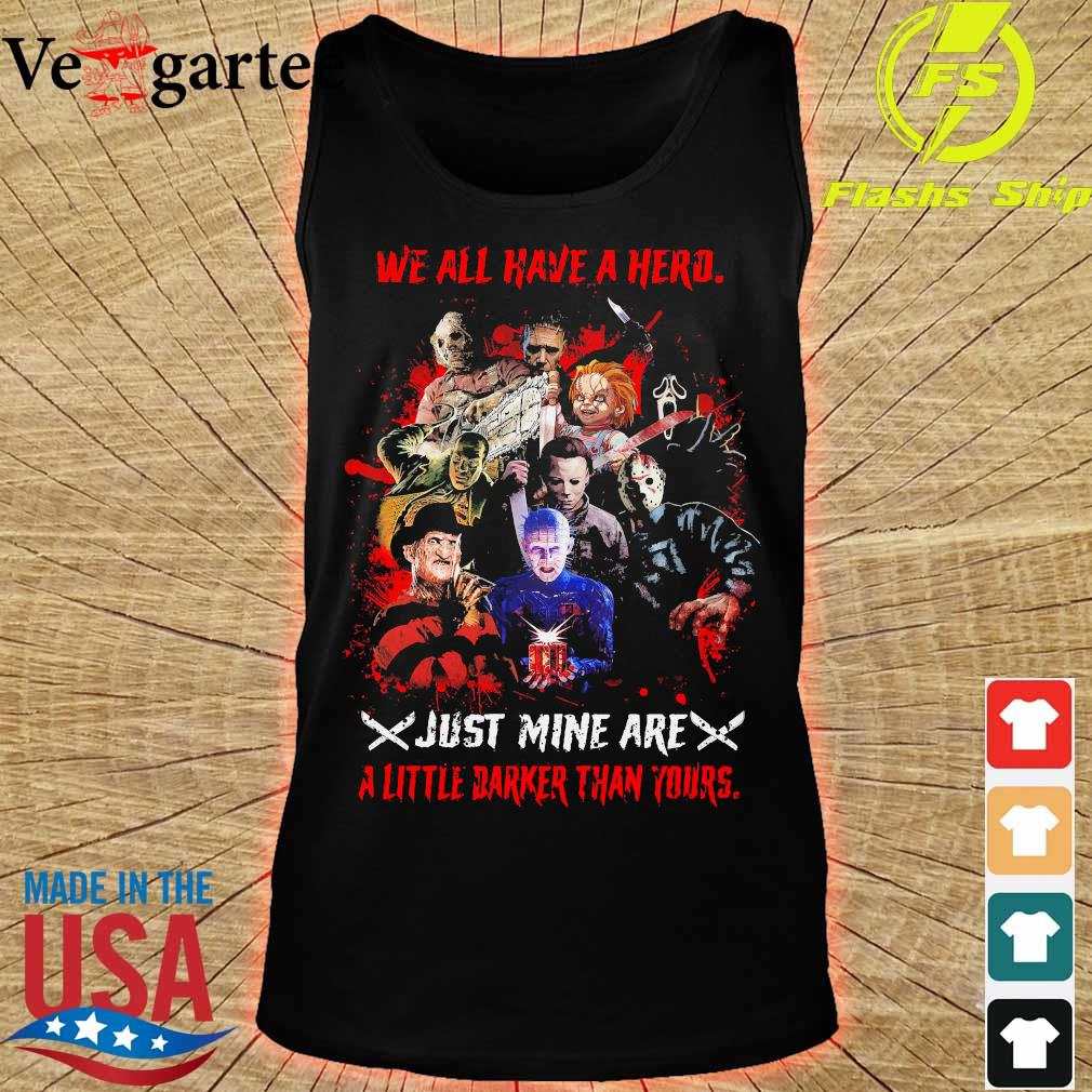 We all have a herd just mine are a little darker than yours s tank top