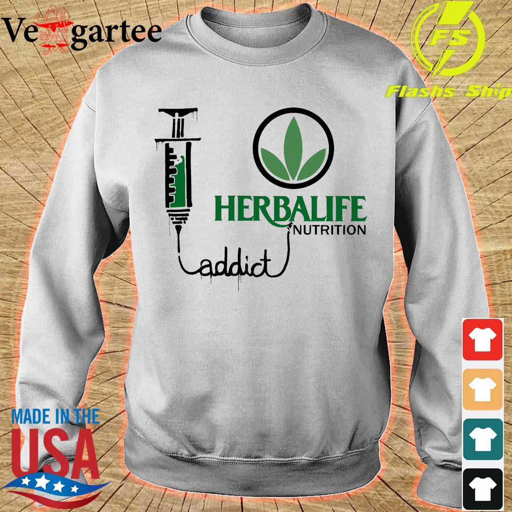 Weed herbalife nutrition addict s sweater