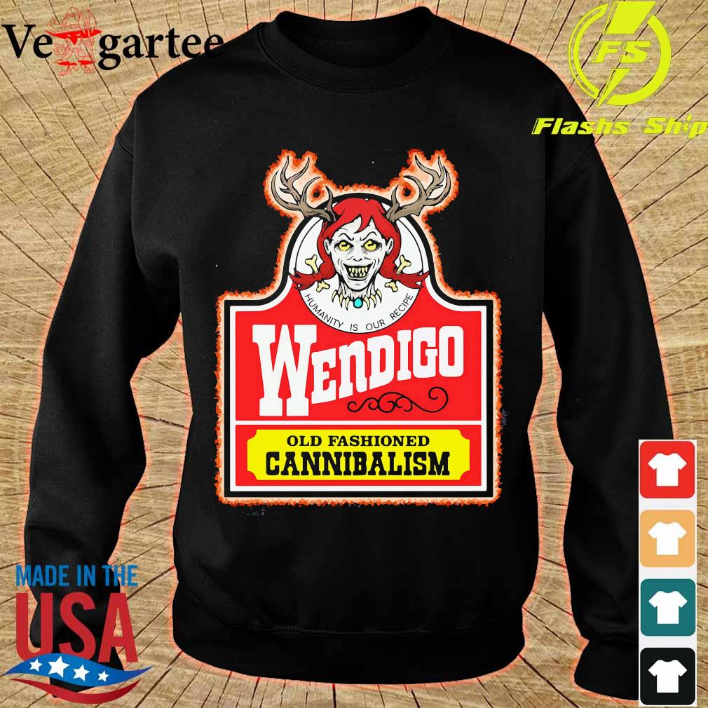 Wendigo old fashioned cannibalism s sweater