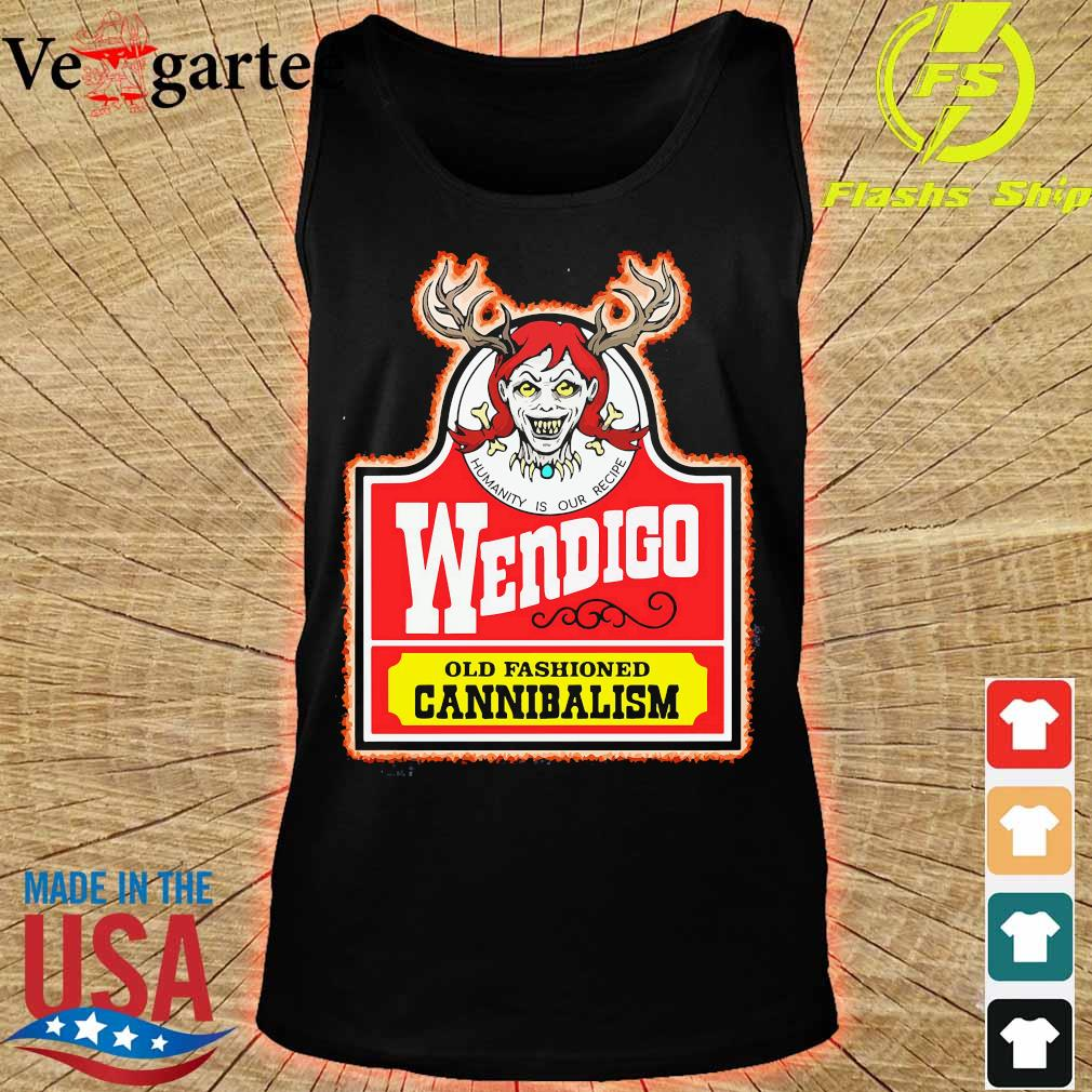 Wendigo old fashioned cannibalism s tank top