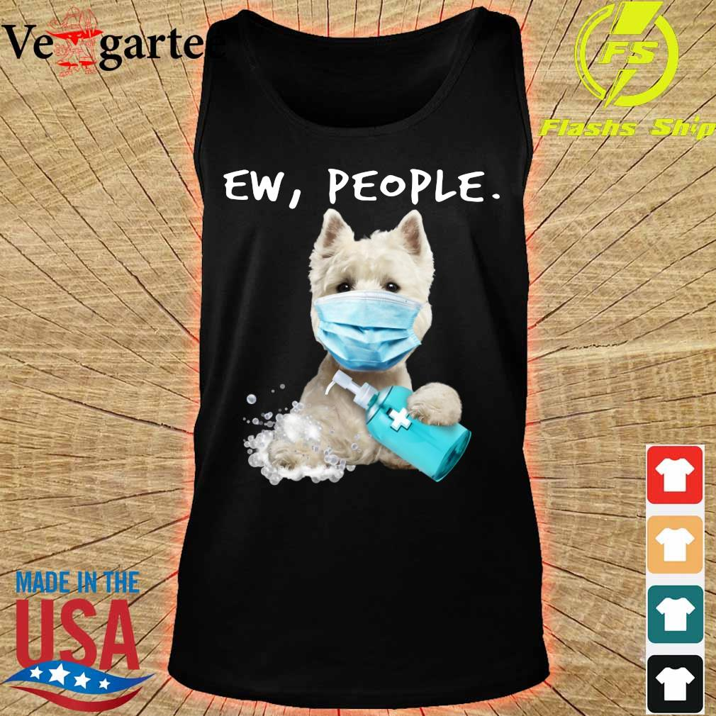 West Highland White Terrier face mark Ew People s tank top