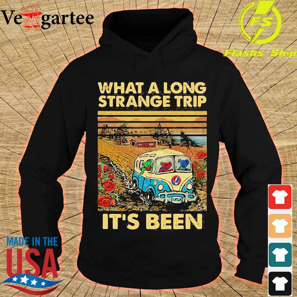 What a long strange trip It's been vintage s hoodie