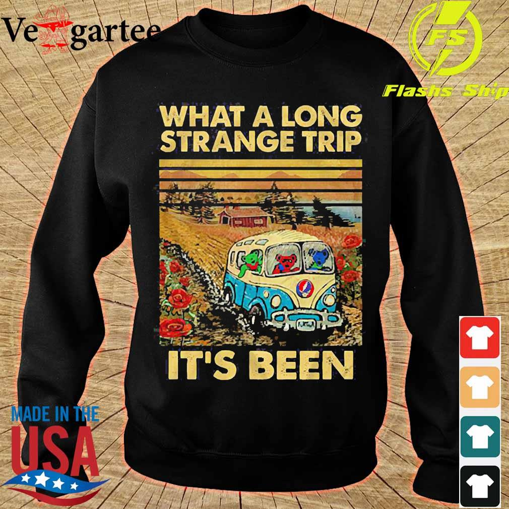 What a long strange trip It's been vintage s sweater