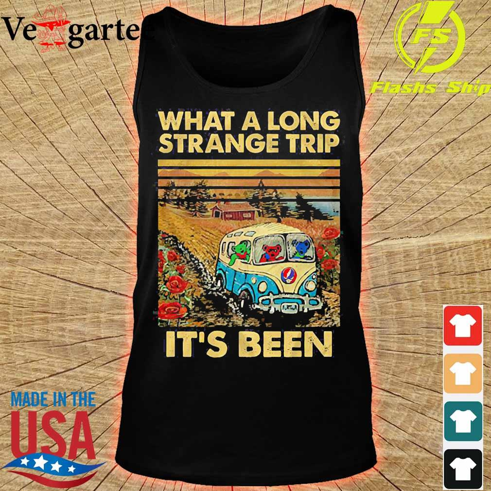 What a long strange trip It's been vintage s tank top