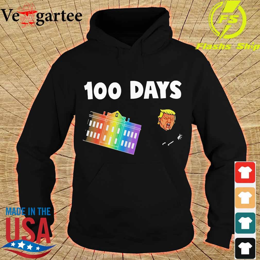 White House 100 day Donald Trump s hoodie