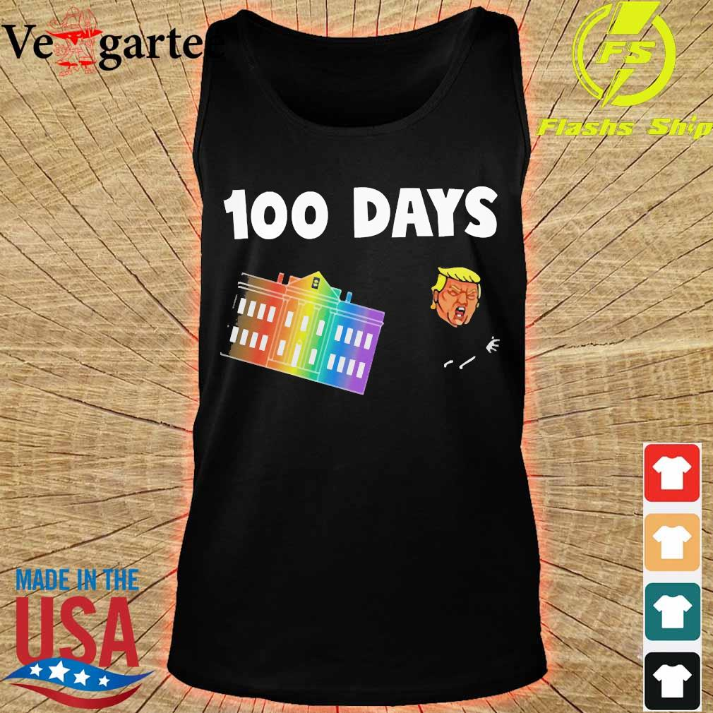 White House 100 day Donald Trump s tank top