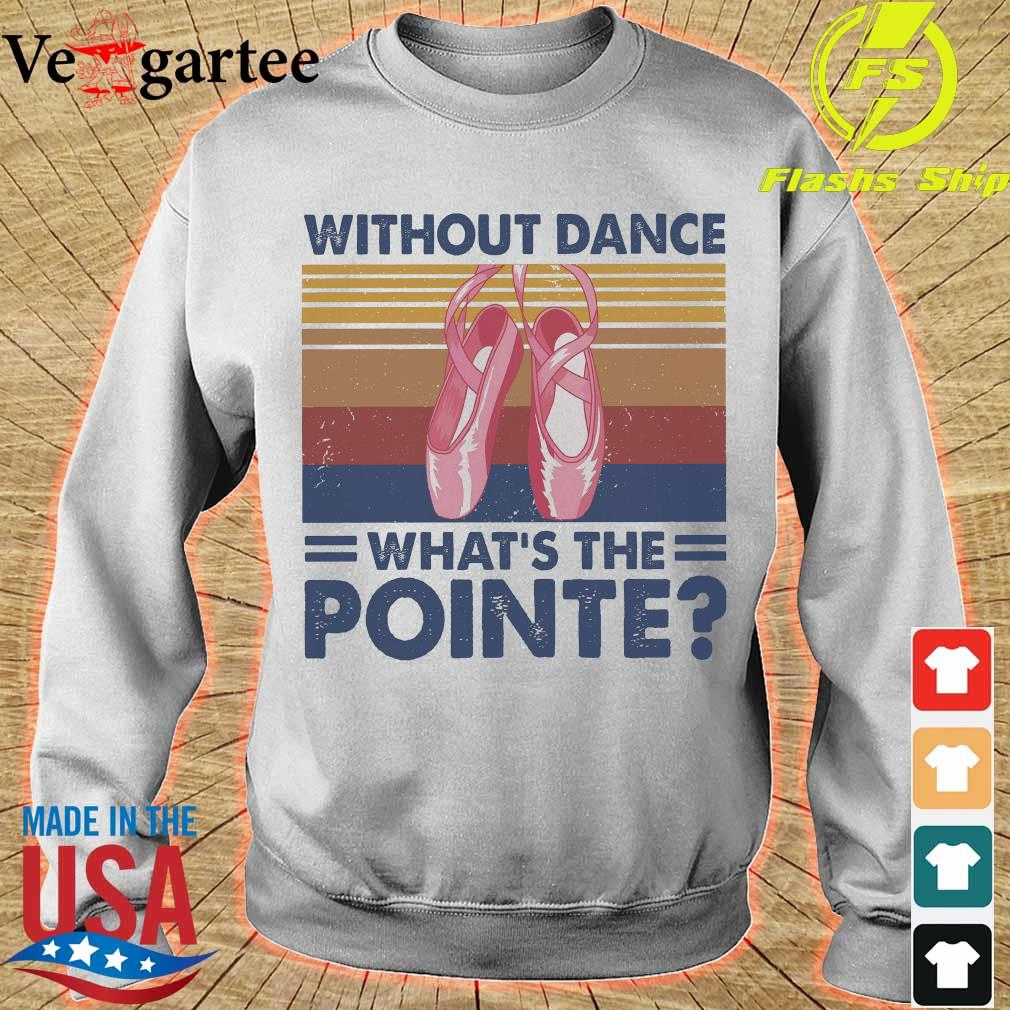 Without dance What's the Pointe vintage s sweater