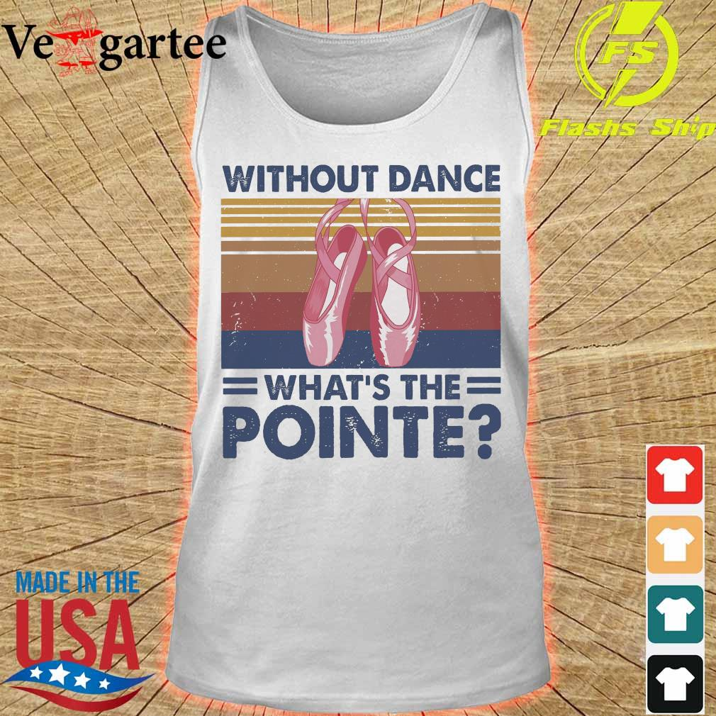Without dance What's the Pointe vintage s tank top