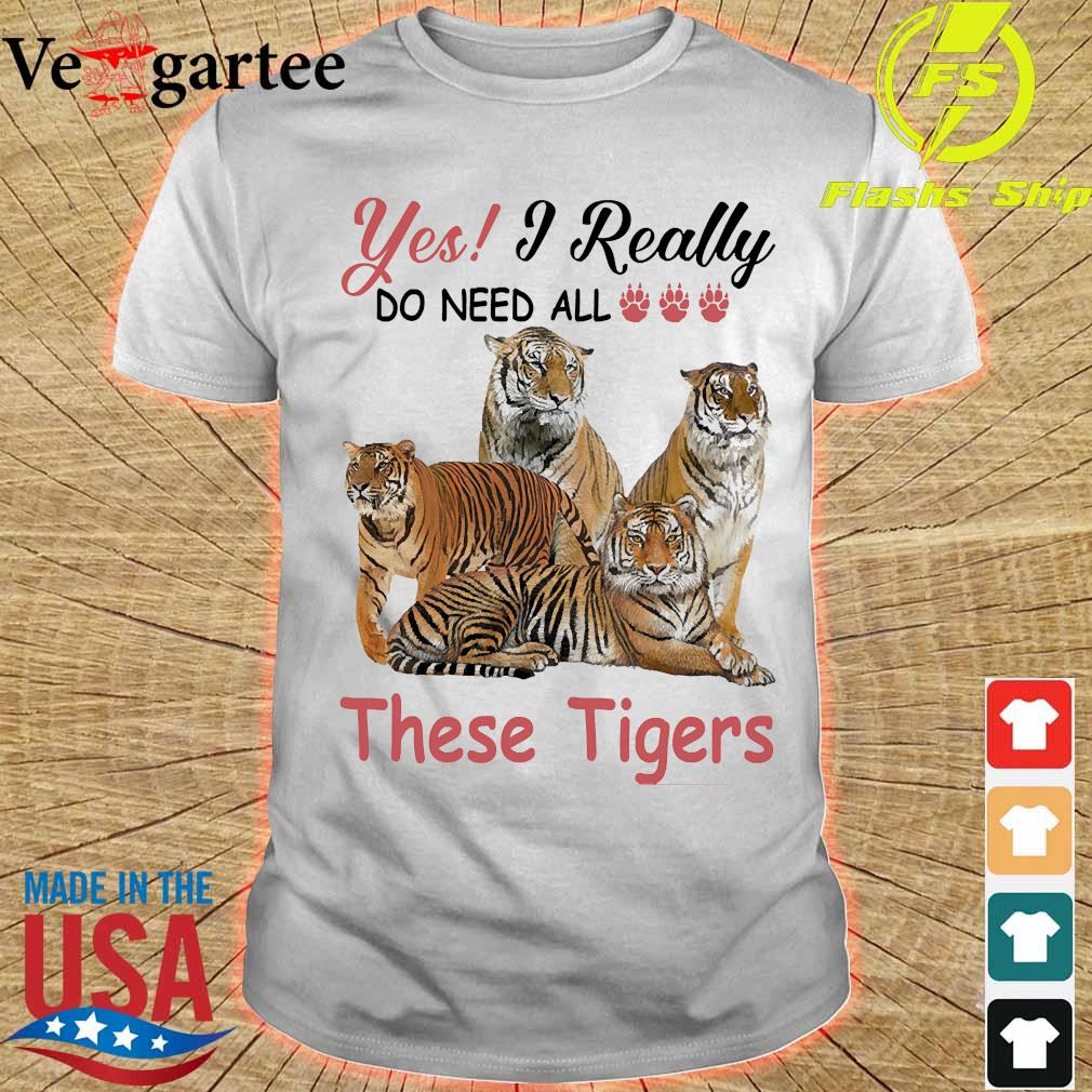 Yes I really do need all these Tigers shirt