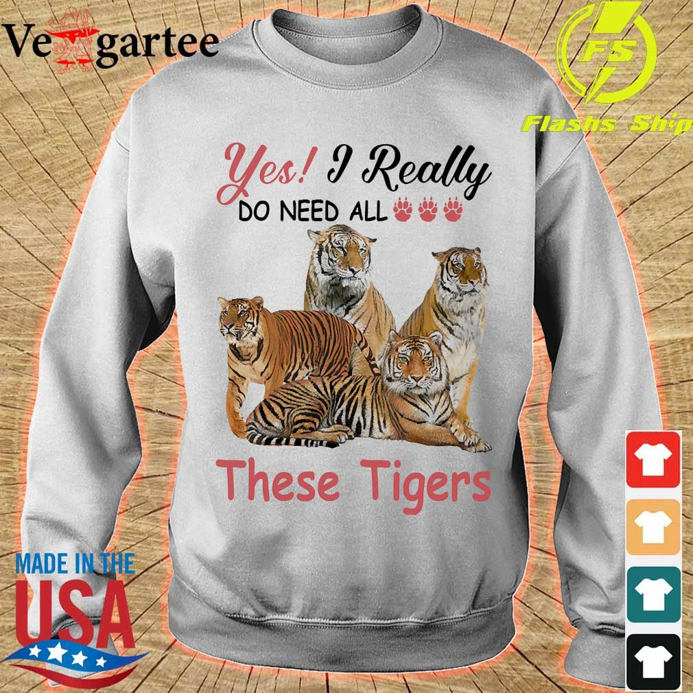 Yes I really do need all these Tigers s sweater