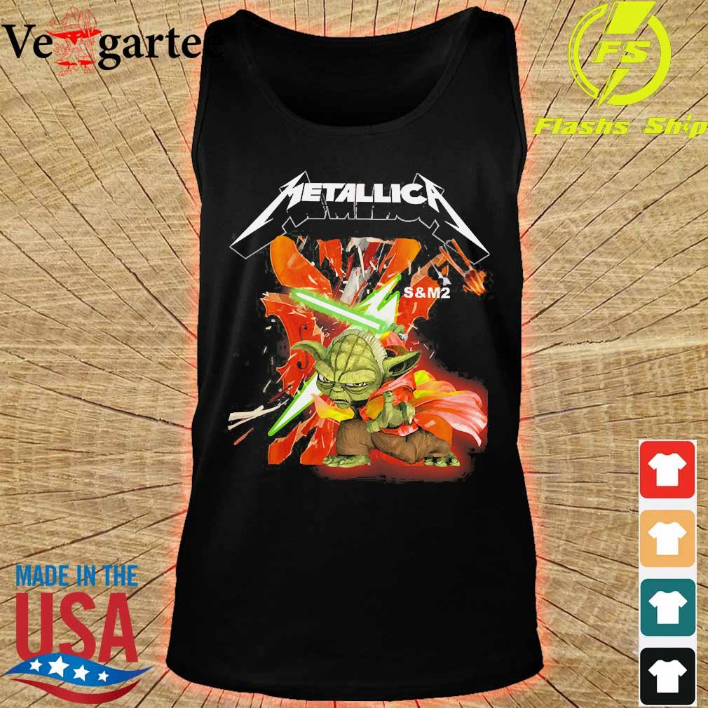 Yoda Star Wars Metallica s tank top