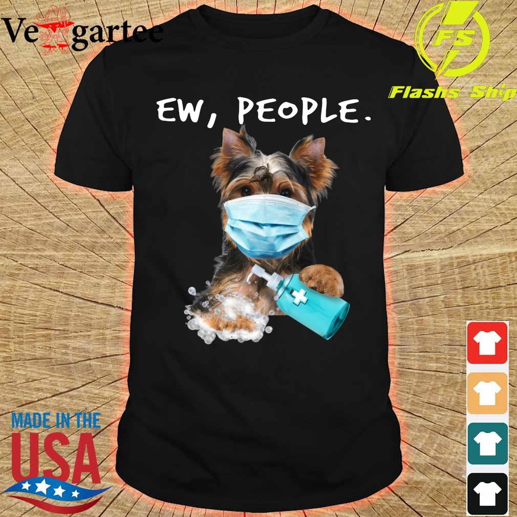 Yorkshire Terrier face mark Ew People shirt