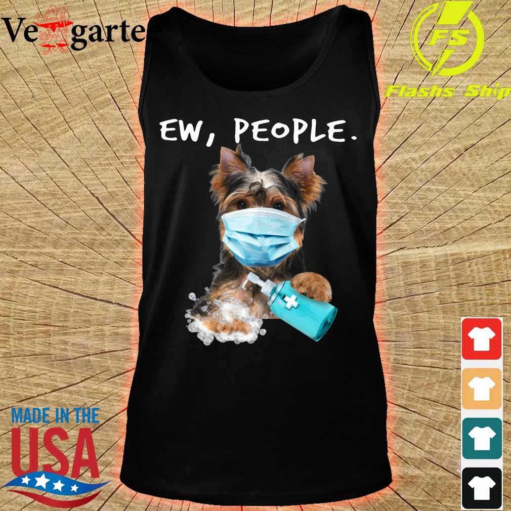 Yorkshire Terrier face mark Ew People s tank top