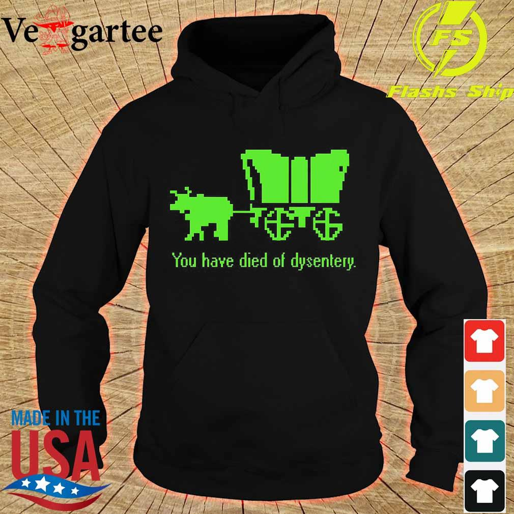 You have died of dysentery s hoodie