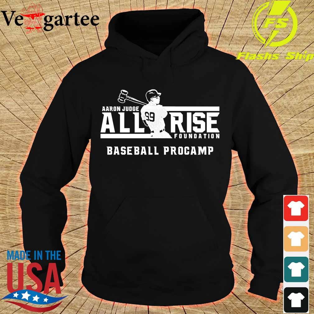 Aaron Judge all rise foundation baseball procamp s hoodie