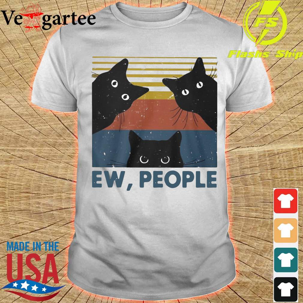 Black Cats ew people vintage shirt
