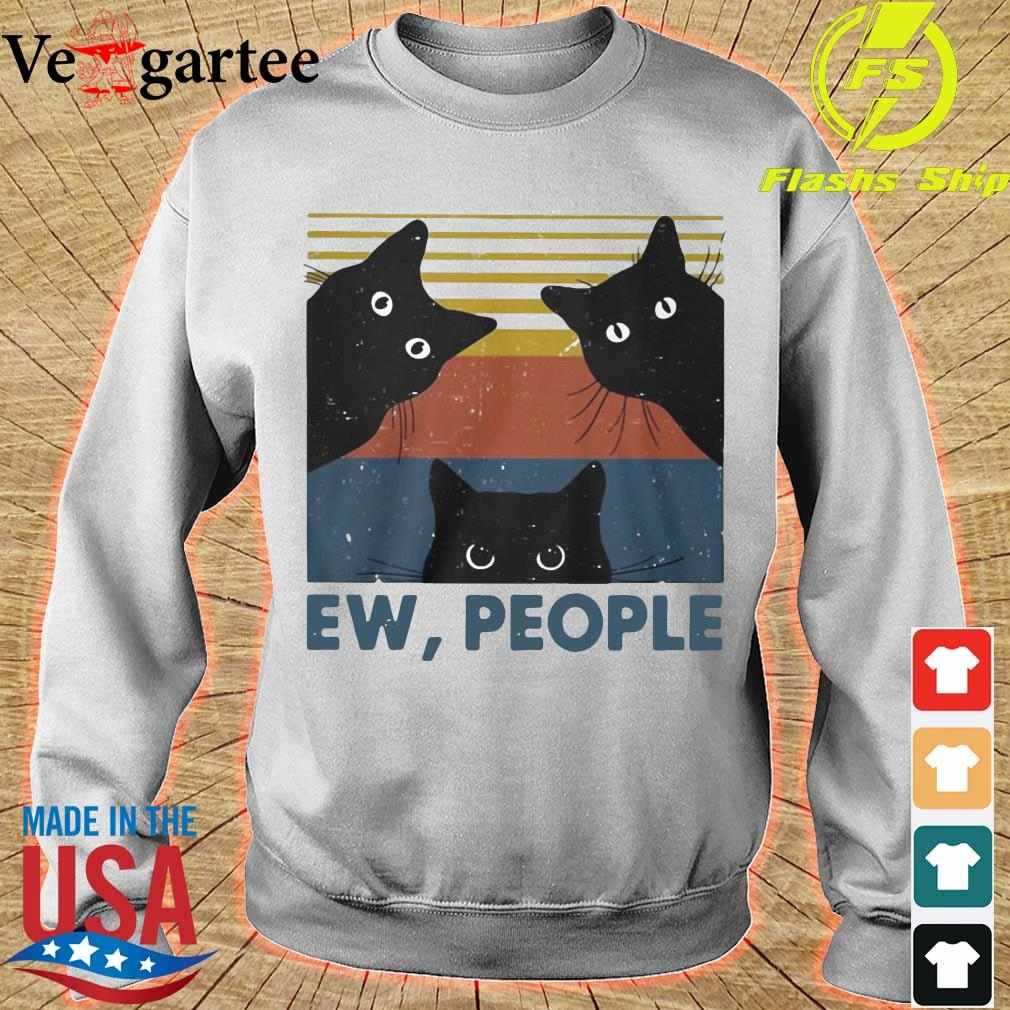 Black Cats ew people vintage s sweater