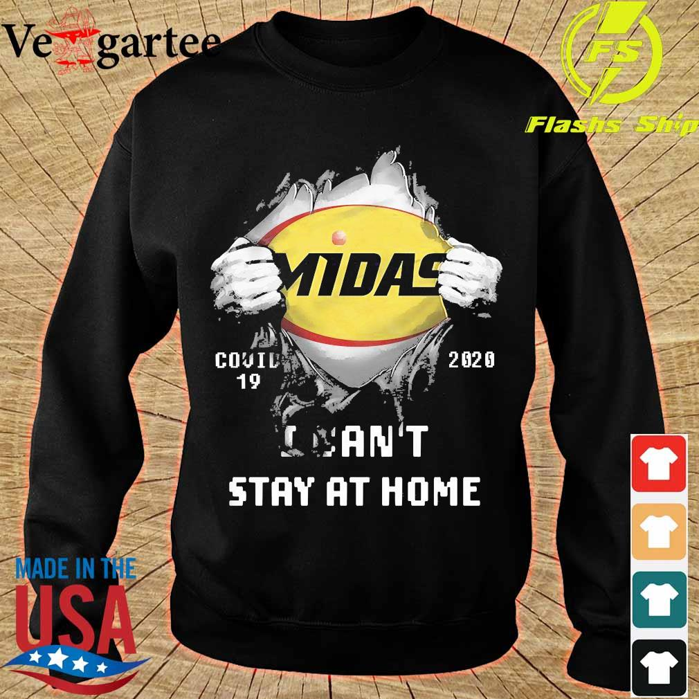 Blood inside me Midas covid-19 2020 I can't stay at home s sweater