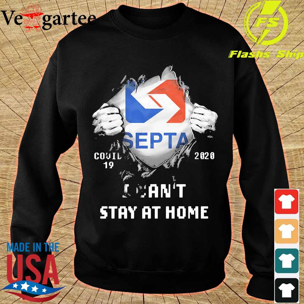 Blood inside me Septa covid-19 2020 I can't stay at home s sweater