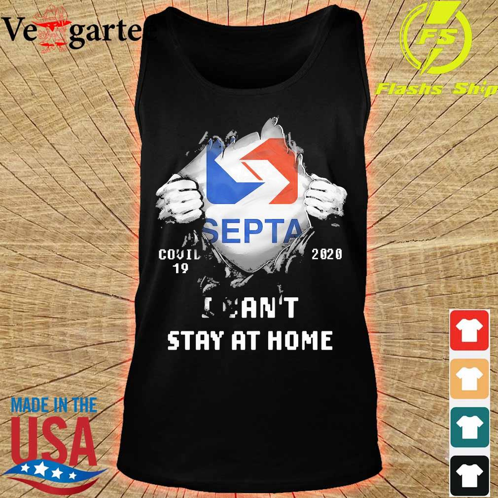 Blood inside me Septa covid-19 2020 I can't stay at home s tank top