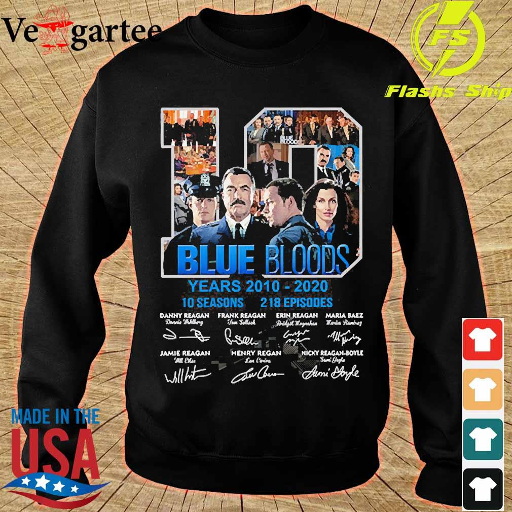 Blue Bloods 10 years 2010 2020 10 seasons 218 episodes signatures s sweater