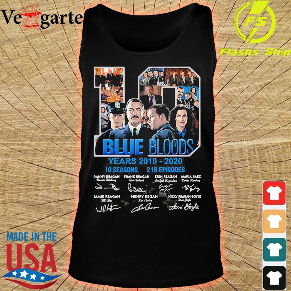 Blue Bloods 10 years 2010 2020 10 seasons 218 episodes signatures s tank top