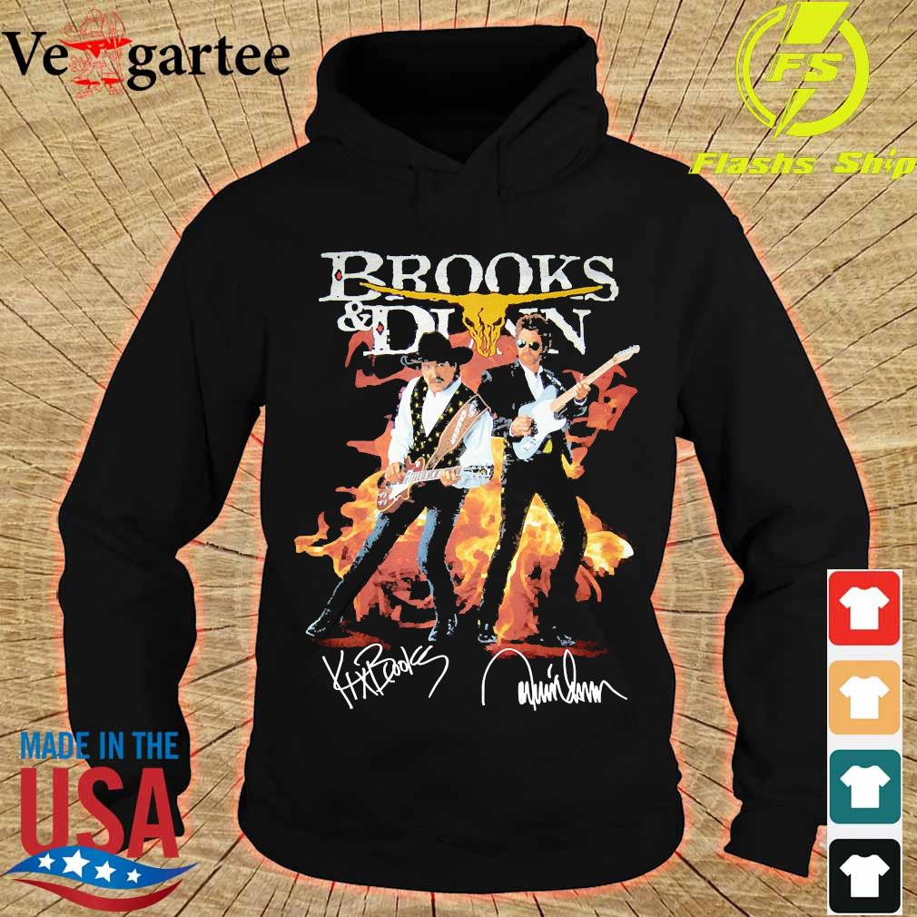 Brooks and Dunn signatures s hoodie