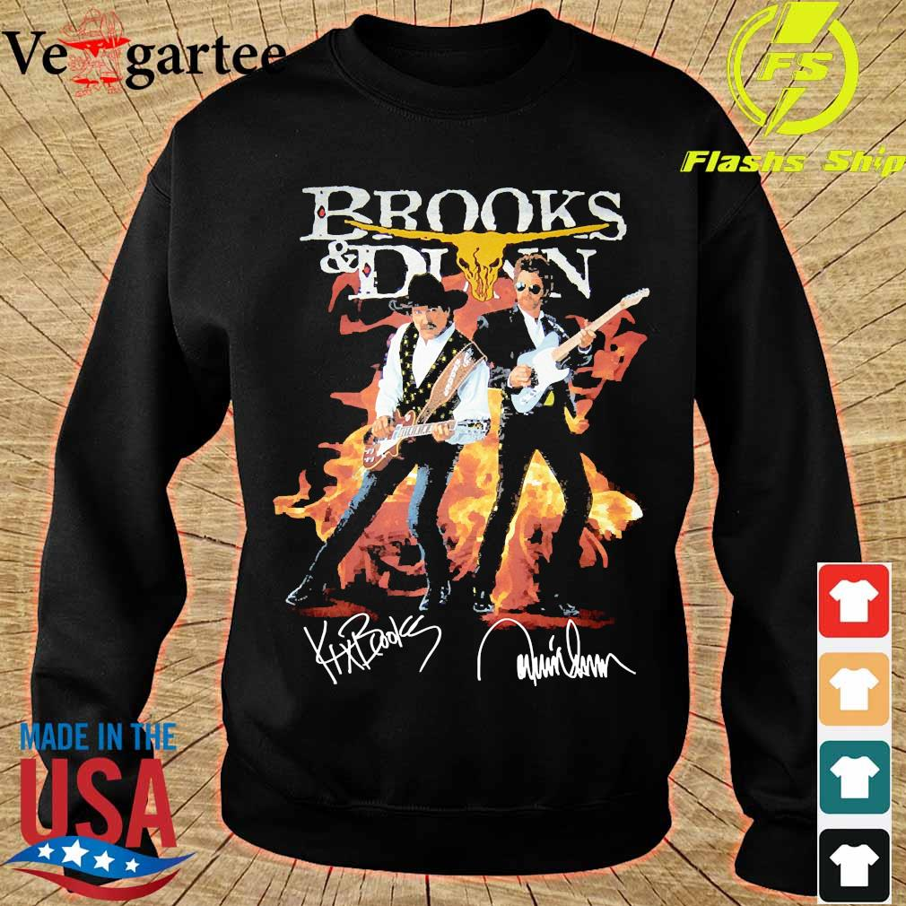 Brooks and Dunn signatures s sweater