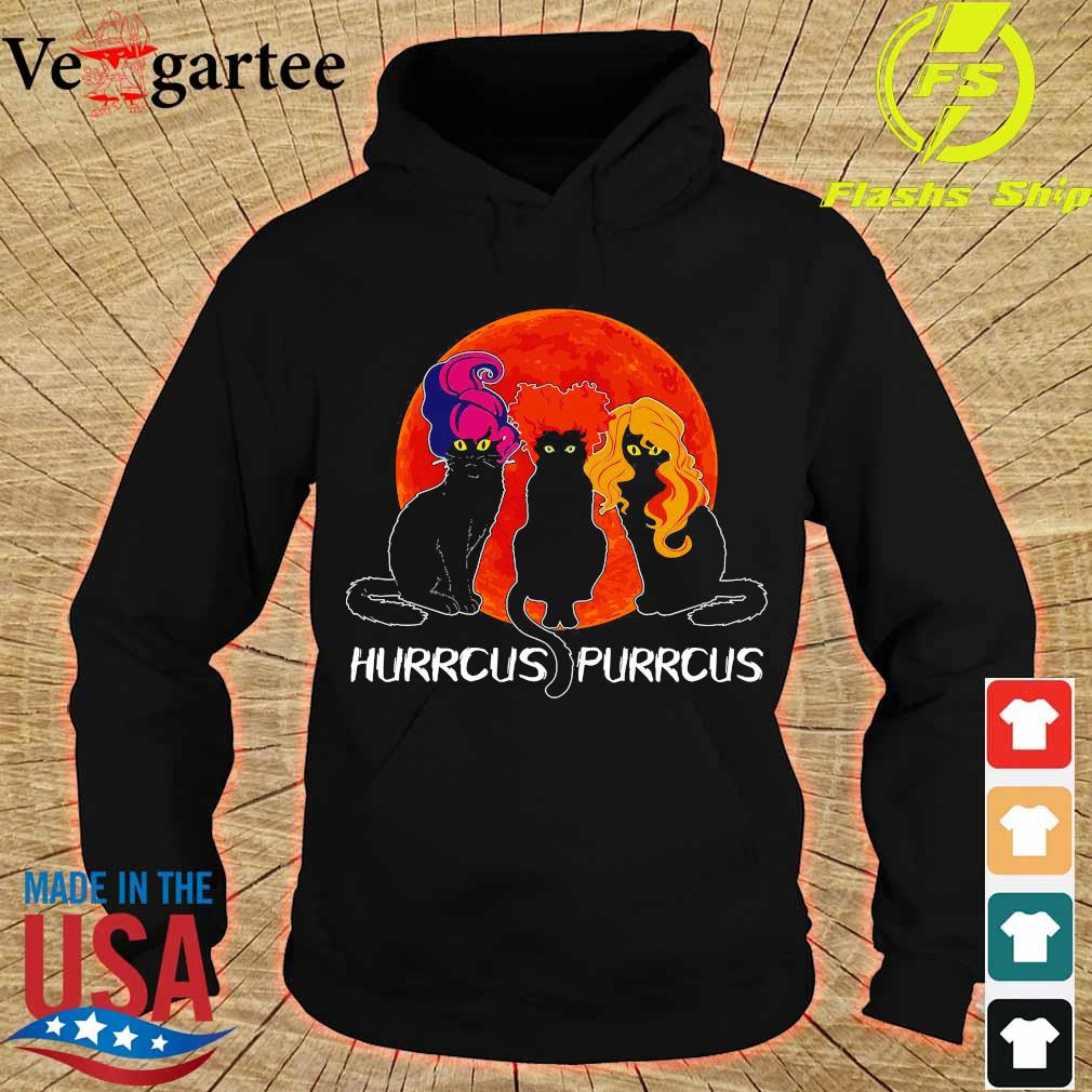 Cats Hurrcus purrcus blood moon s hoodie