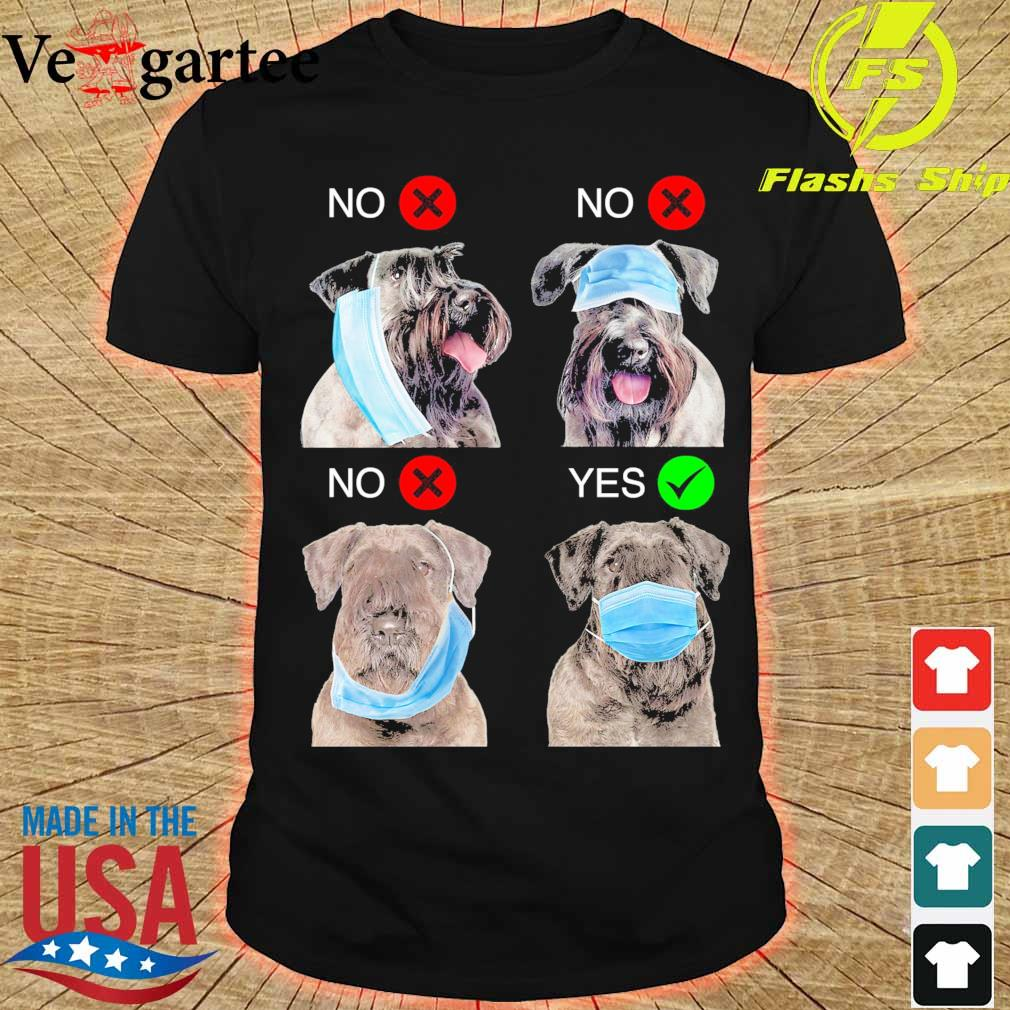 Cesky Terrier Right Way To Wear Mask shirt