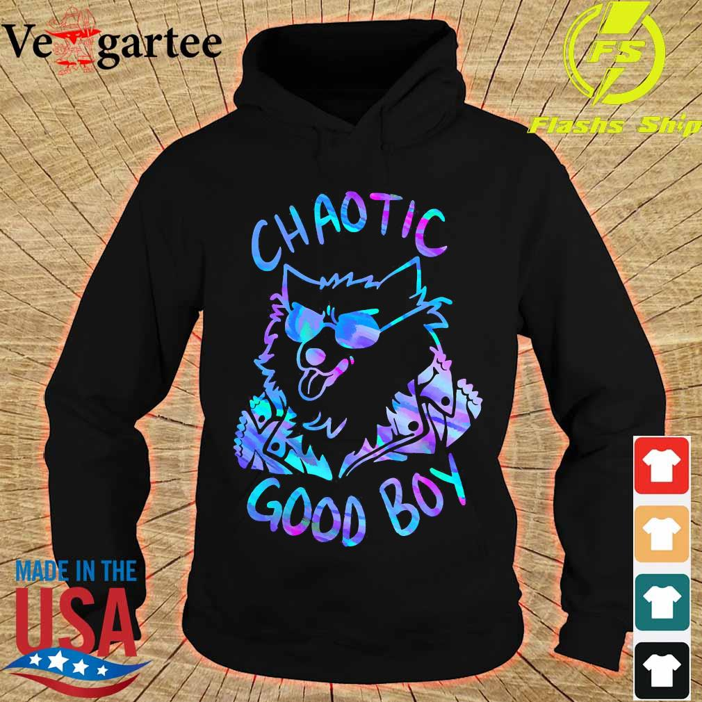 Chaotic good boy s hoodie