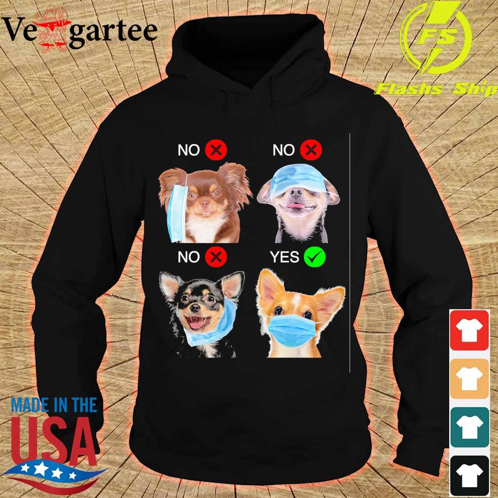 Chihuahua Right Way To Wear Mask s hoodie