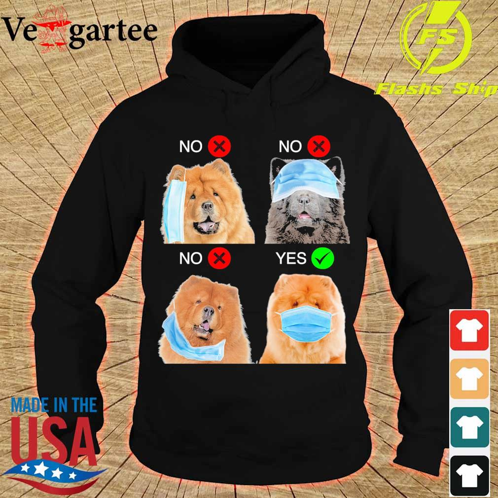Chow Chow Right Way To Wear Mask s hoodie