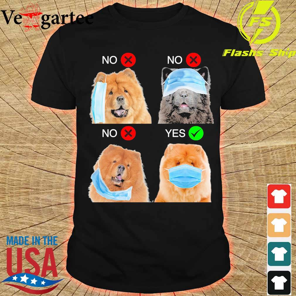 Chow Chow Right Way To Wear Mask shirt