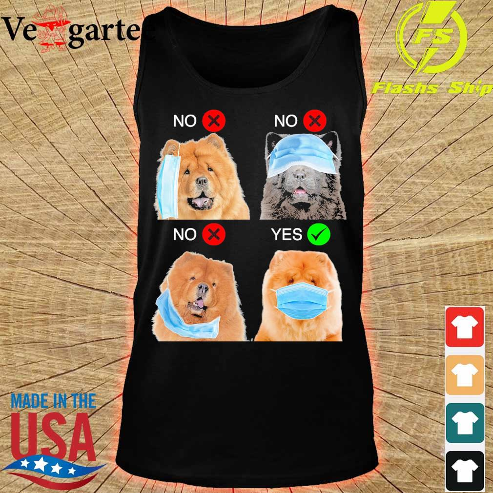 Chow Chow Right Way To Wear Mask s tank top
