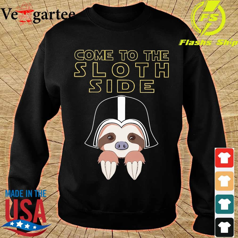 Come to the sloth side s sweater