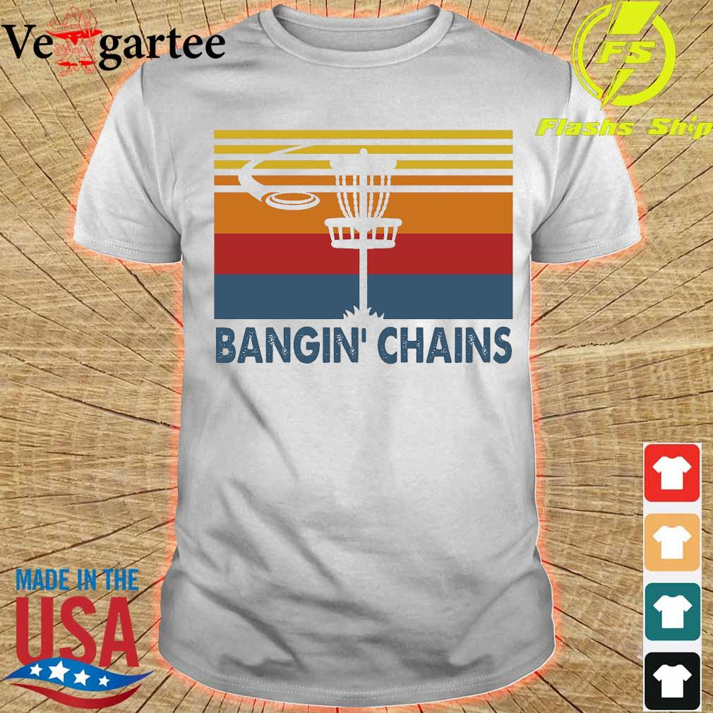 Disc golf Bangin' Chains vintage shirt