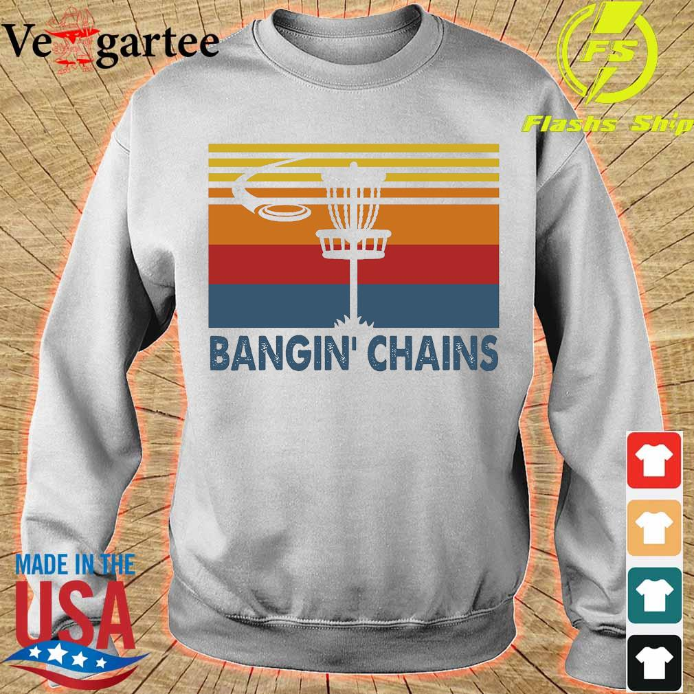 Disc golf Bangin' Chains vintage s sweater