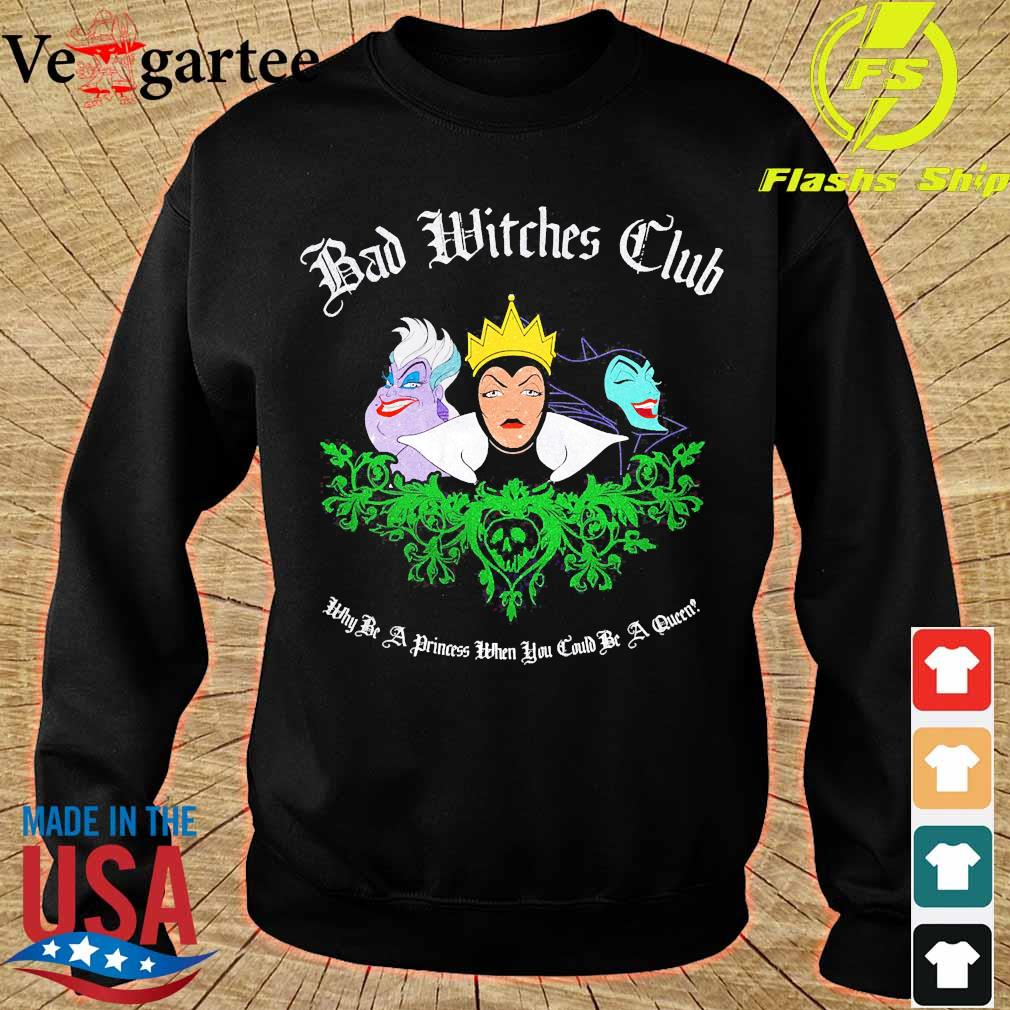 Disney Bad Witches Club s sweater
