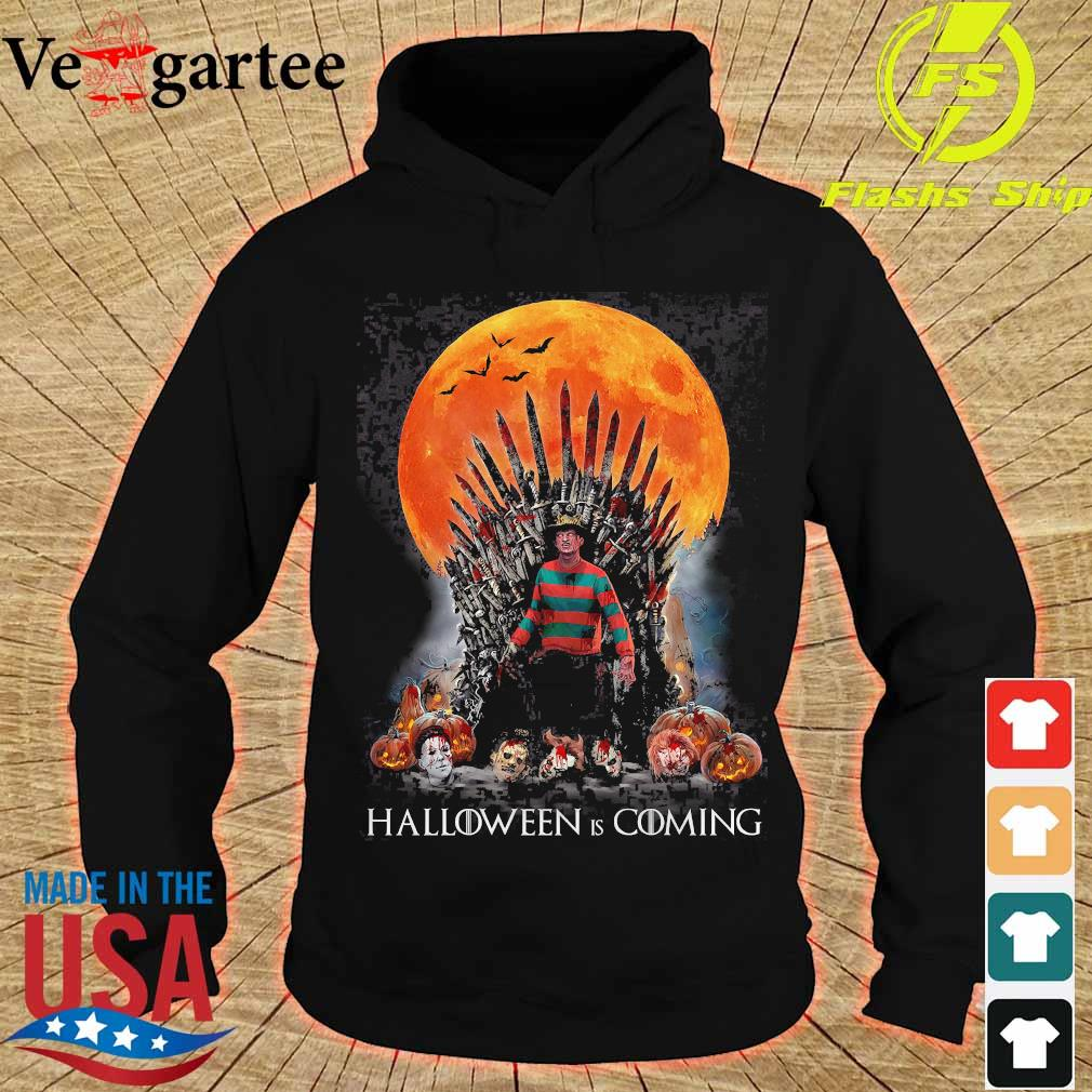 Game of Thrones Freddy Krueger Halloween is coming s hoodie