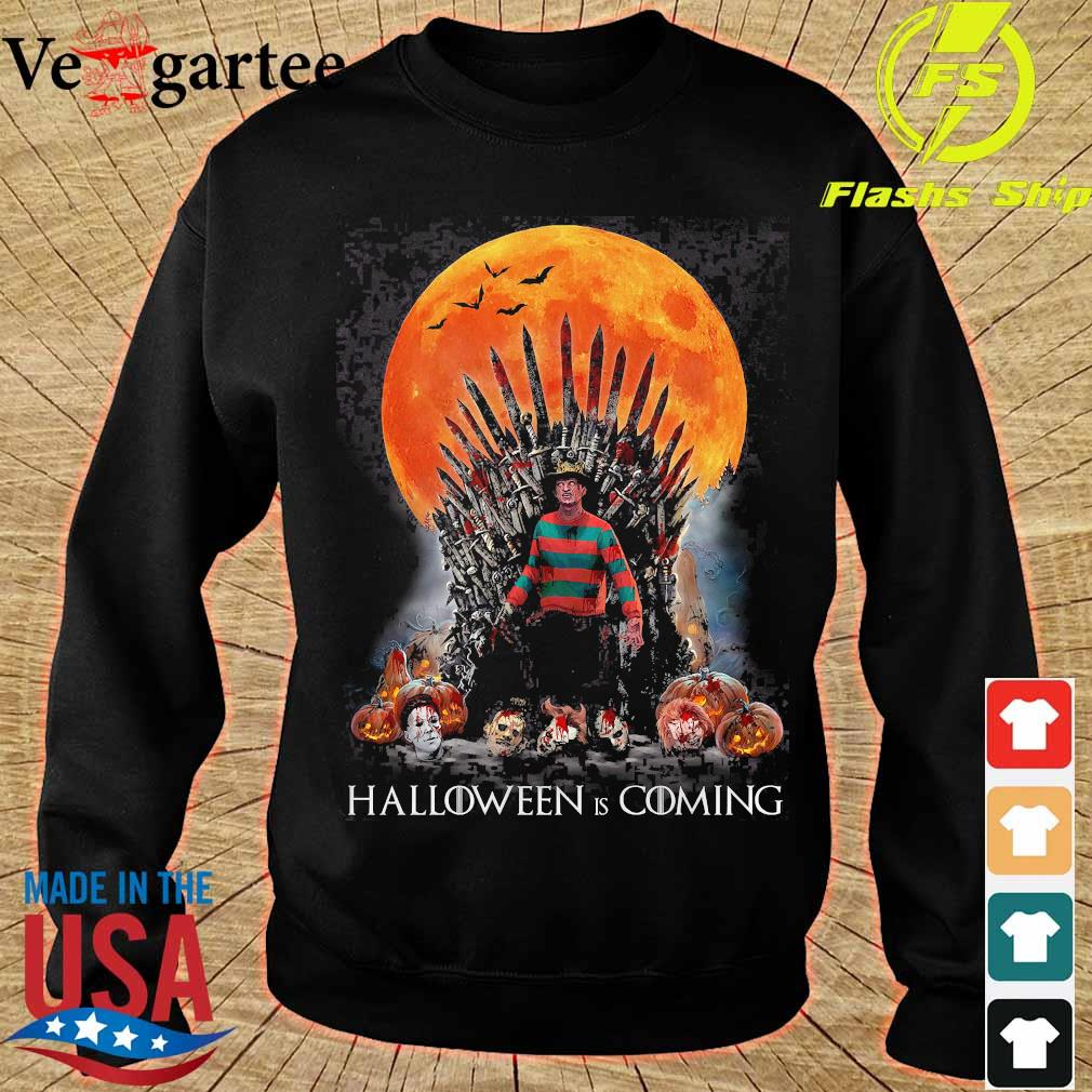 Game of Thrones Freddy Krueger Halloween is coming s sweater