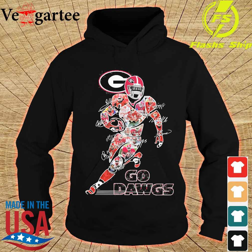 Go Dawgs signatures s hoodie