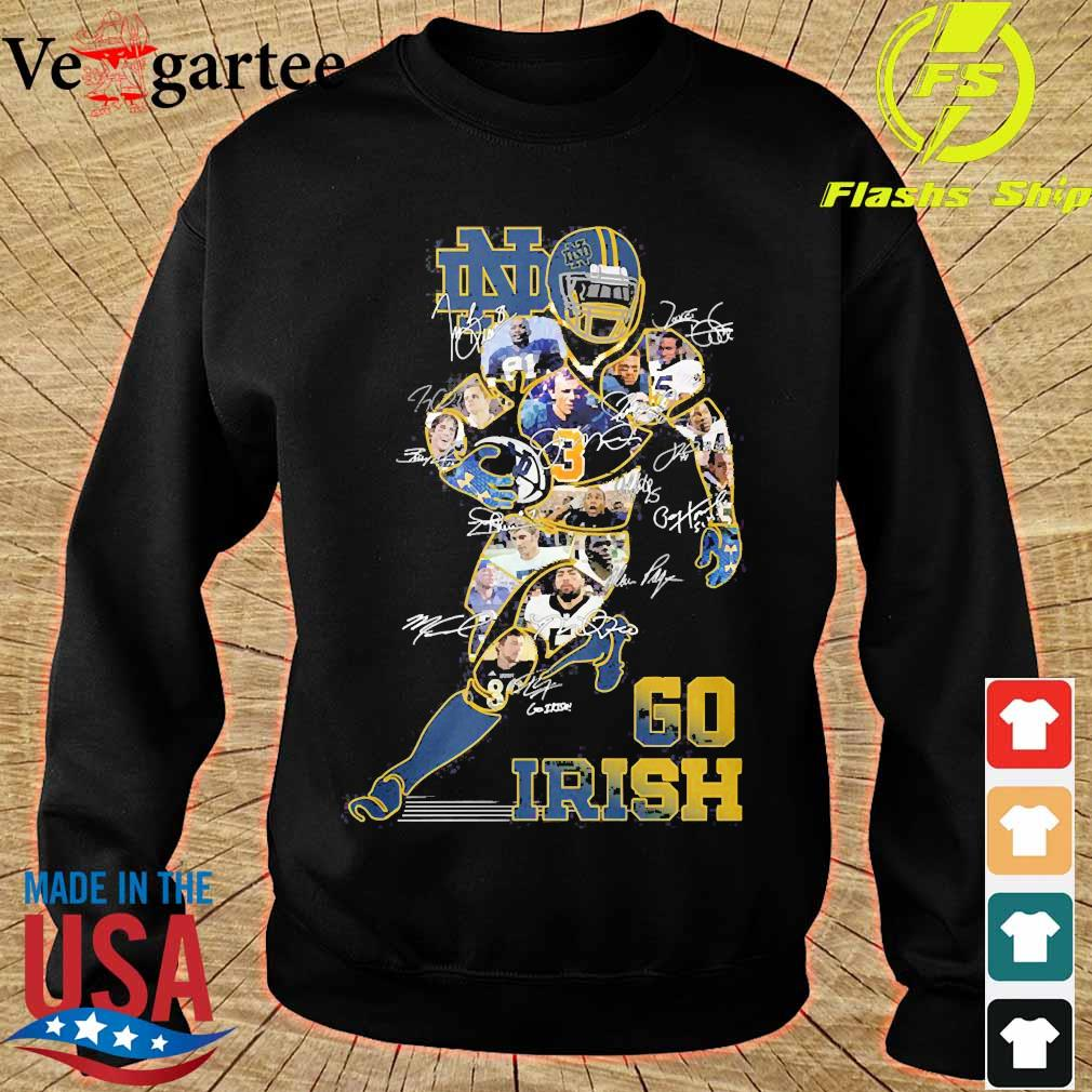 Go Irish signatures s sweater