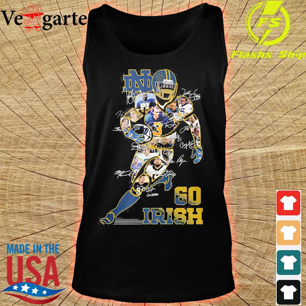 Go Irish signatures s tank top
