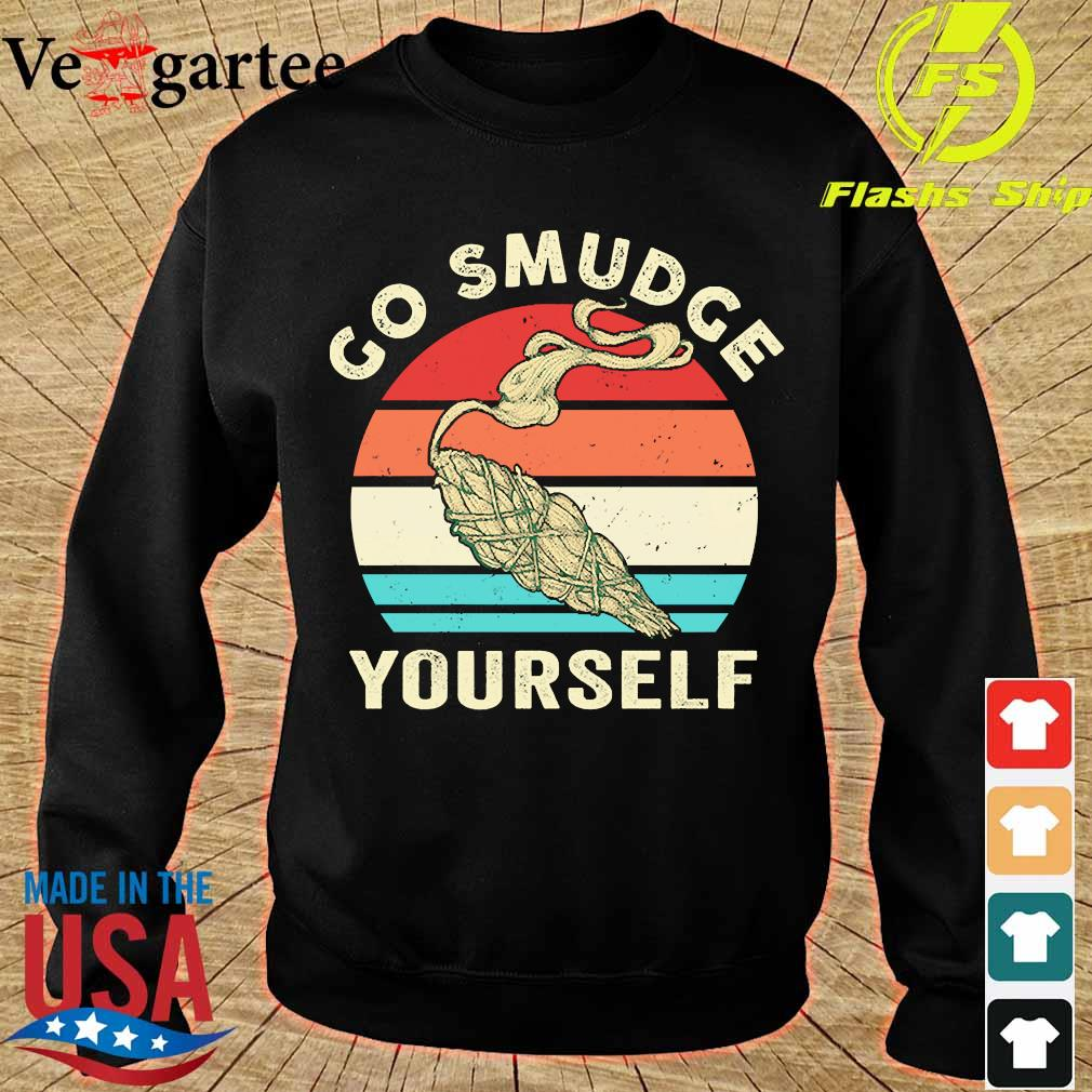 Go smudge yourself vintage s sweater