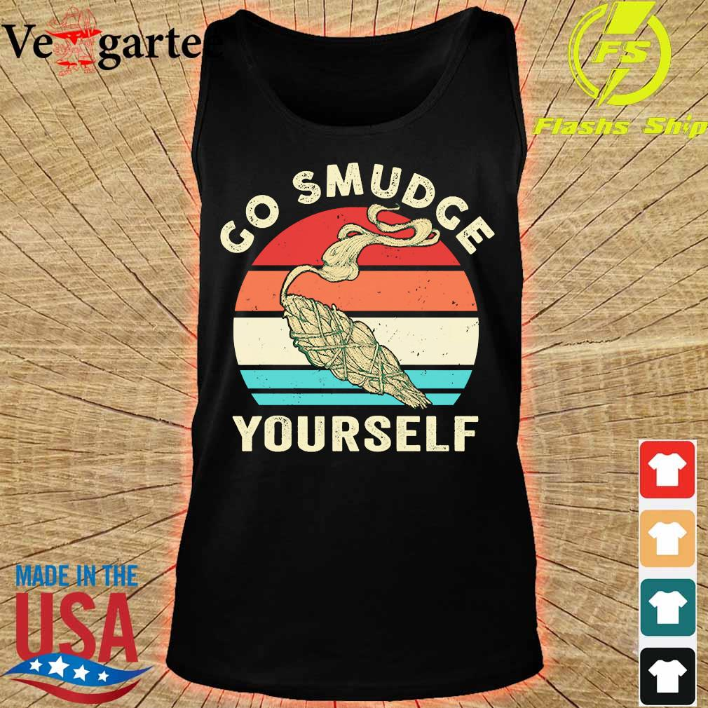 Go smudge yourself vintage s tank top