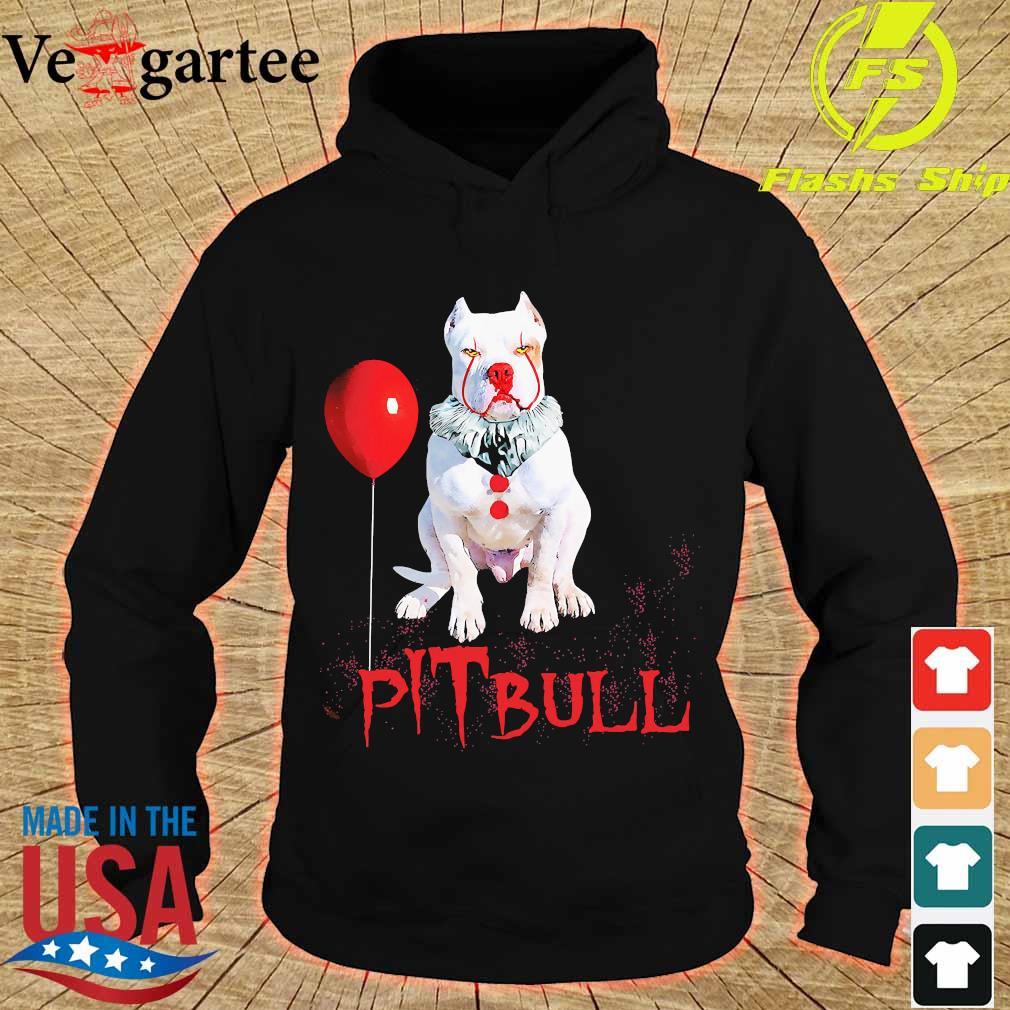 Halloween Stephen king IT Pitbull s hoodie